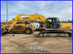 2001 Kobelco SK210LC Excavator THUMB OPERATIONAL/INSPECTION VIDEO Walk-around