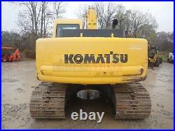 2001 Komatsu Pc150lc-6k Excavator Cab Heat/ac 2 Speed 107 HP Komatsu 631 Hours