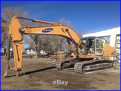 2001 Samsung Excavator Very Good Condition