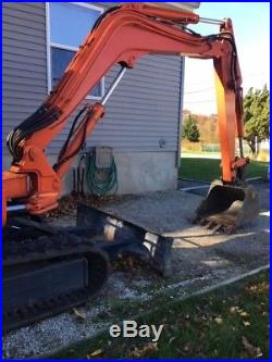 2001 Thomas T35S Mini Excavator