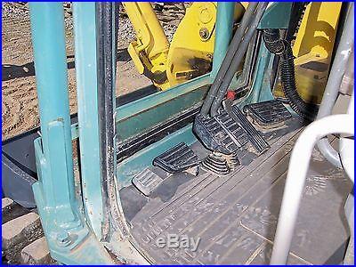 2001 YANMAR VIO70 2700 HOURS TRACKS 100%