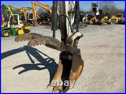 2002 Bobcat 442 Hydraulic Midi Excavator with Cab & Hydraulic Thumb 3900 Hours