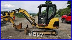 2002 Caterpillar 302.5 Hydraulic Mini Excavator with Cab Only 2400Hrs Coming Soon