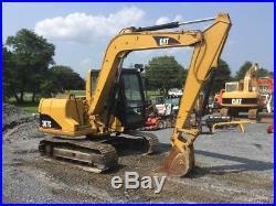 2002 Caterpillar 307C Midi Excavator with Cab
