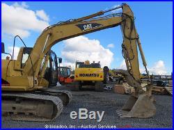 2002 Caterpillar 312CL Excavator Hydraulic Thumb A/C Cab Q/C 2-Buckets bidadoo