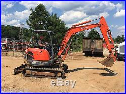 2002 Kubota Kx 121-3 Mini Excavator Diesel Rubber Track Excavator Bobcat Cat