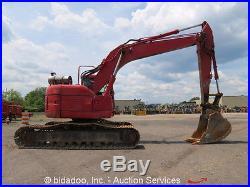 2002 Komatsu PC228USLC-3 Hydraulic Excavator A/C Cab Hyd Q/C AUX bidadoo
