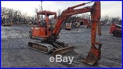 2002 Kubota KX121-2 Mini Excavator