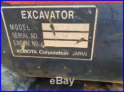 2002 Kubota KX91-2 Mini Excavator with Extend-A-Hoe
