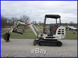 2002 Terex Hr14 Mini Excavator / Hydraulic Thumb / Only 1565 Hours / Heat / Nr