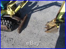2002 Yanmar B08-3 Mini Excavator
