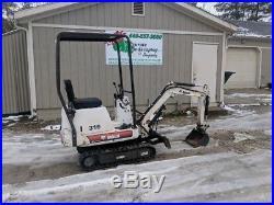 Excavators Blog Archive 2003 Bobcat 316 Mini Excavator