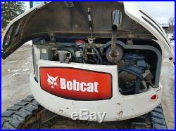 2003 Bobcat 442 Midi Excavator Cab, Heat/AC, 2 buckets, Hydraulic Thumb