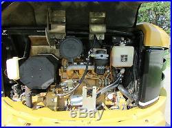 2003 CATERPILLAR 305CR / CAB-HEAT AIR / 12,000 LB / 2-SPEED / RUNS GREAT /NR