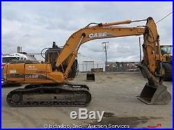 2003 Case CX160 Hydraulic Excavator Hyd Thumb A/C Cab 2-Buckets AUX bidadoo