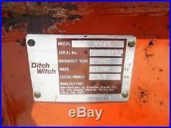 2003 Ditch Witch MX45 MINI EXCAVATOR One owner Very Nice! Komatsu PC45mr