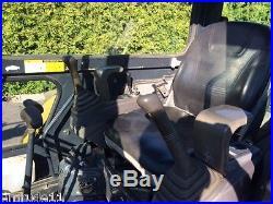 2003 John Deere 27c Zts Mini Excavator Cab Ac & Heat Rubber Track Diesel