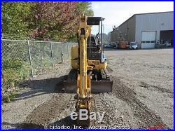 2003 John Deere 27C ZTS Mini Excavator Hydraulic Thumb Backfill Dozer Blade