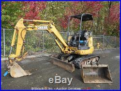 2003 John Deere 27C ZTS Mini Excavator Hydraulic Thumb Backfill Dozer Blade AUX