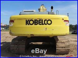2003 Kobelco SK330LC Hydraulic Excavator Cab Heat AC 31.5 Tracks bidadoo