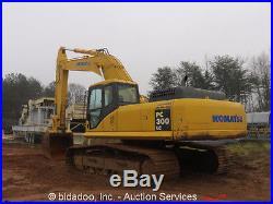 2003 Komatsu PC300LC-7L Hydraulic Excavator Track Hoe 54 Bucket Diesel bidadoo