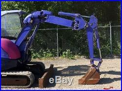 2003 Komatsu PC30UU-3 Mini Hydraulic Excavator Dozer Blade Yanmar Diesel bidadoo