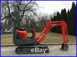 2003 Kubota K008-3 Rubber Track Mini Excavator Diesel Crawler