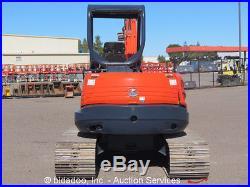 2003 Kubota KX161-3 Mini Excavator Dozer Blade Diesel Track Hoe bidadoo