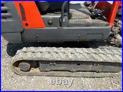2003 Kubota KX41-2 Hydraulic Mini Excavator with 3rd Valve Front Blade 2000Hrs