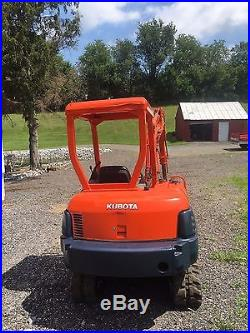 2003 Kubota KX91-2 Excavator with ExtendaHoe NO RESERVE AUCTION