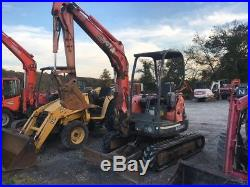 2003 Kubota U35 Hydraulic Mini Excavator with New Tracks! Coming Soon