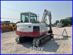 2003 Takeuchi TB175 Hydraulic Midi Excavator with Cab 3rd Valve Backfill Blade