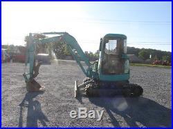 2003 Yanmar VIO40 Mini Excavator withCab & Thumb
