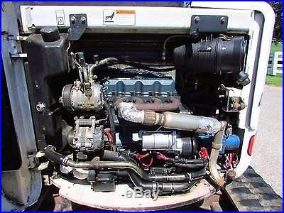 2004 BOBCAT 430 ZHS MINI EXCAVATOR / CAB-HEAT-COLD AIR / 8500 LBS / 43 HP