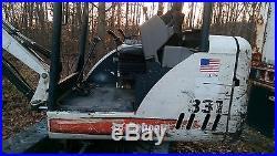 2004 Bobcat 331G Excavator with Thumb