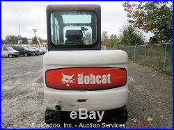 2004 Bobcat 331G Mini Excavator A/C Cab Hydraulic Thumb Aux Blade Kubota Diesel