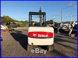 2004 Bobcat 331g Mini Excavator Open Cab Rubber Tracks Push Blade