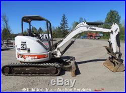 2004 Bobcat 430G Mini Excavator Hydraulic Thumb Kubota Diesel Rubber Tracks