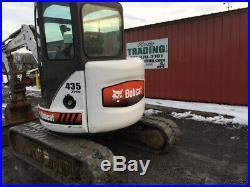 2004 Bobcat 435 Hydraulic Mini Excavator with Cab & Hydraulic Thumb
