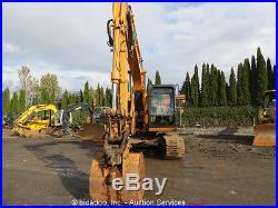 2004 Case CX130 Excavator Cab Hydraulic Thumb A/C Cab Hyd Q/C 3-Buckets