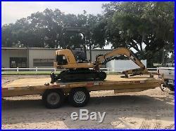 2004 Caterpillar 302.5 Mini Excavator Rubber Tracks Tractor Blade Aux