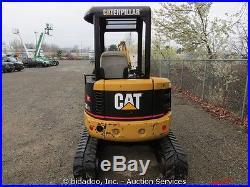 2004 Caterpillar 303CR Mini Excavator Backhoe Hydraulic Thumb 60 Blade Aux CAT