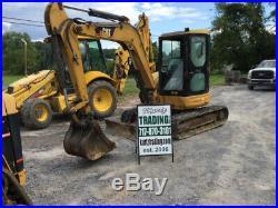 2004 Caterpillar 305CR Hydraulic Mini Excavator with Cab NEEDS WORK