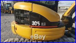 2004 Caterpillar 305C CR Mini Excavator A/C Cab Radio Blade 1505 hours
