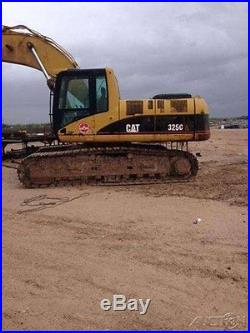 2004 Caterpillar 325C Excavator 189hp CAT Diesel Track Drive TEXAS
