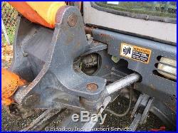 2004 Hitachi ZX50U Hydraulic Mini Excavator Heated Cab 3 Buckets Thumb Blade