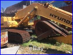 2004 Hyundai RC 360LC-7 Excavator Turbo Diesel Track Hoe Aux Hydraulic