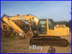 2004 John Deere 160CLC Hydraulic Excavator