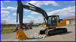 2004 John Deere 160C LC Excavator Hydraulic Diesel Steel Track Hoe EROPS Machine