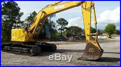 2004 John Deere 225 LC Excavator, Clean, Original Paint, EROPS, Heat, A/C
